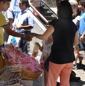 Candy Canes in Santiago