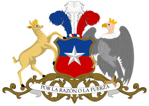 The huemul and the condor have appeared on Chile's coat of arms since 1834