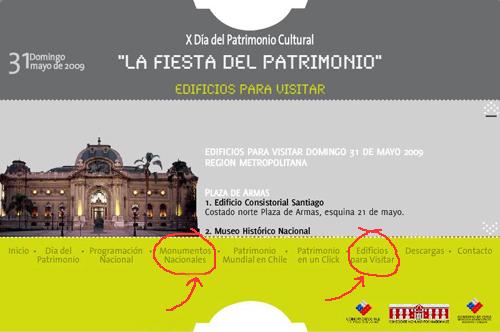 Fiesta del Día del Patrimonio: