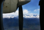Central Chilean Andes to the left