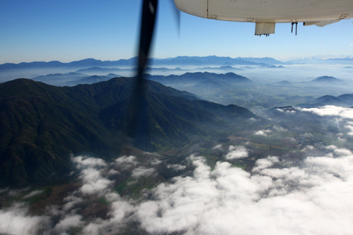 Coastal Mountains--Andes in the distant right