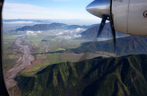 Colchagua Valley: Tinguiririca River and Coastal Mountains