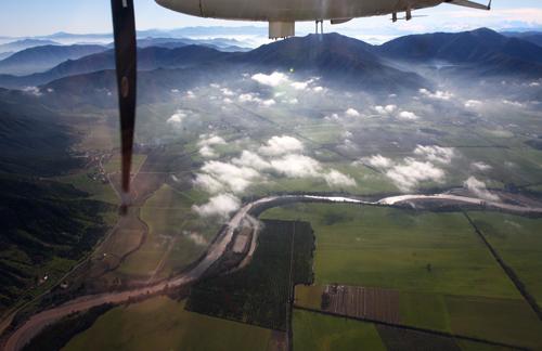 Colcagua Valley: Tinguiririca River and Coastal Mountains