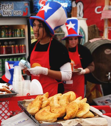 Fried cheese empanadas