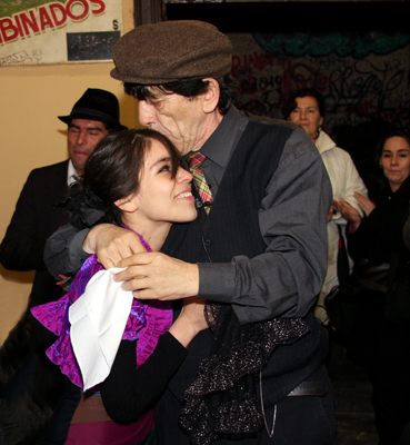 Araucaria and Dioscoro Rojas (© MSnook 2009)