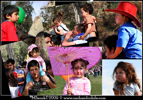 Kids on Shoulders ©MSnookT 2009