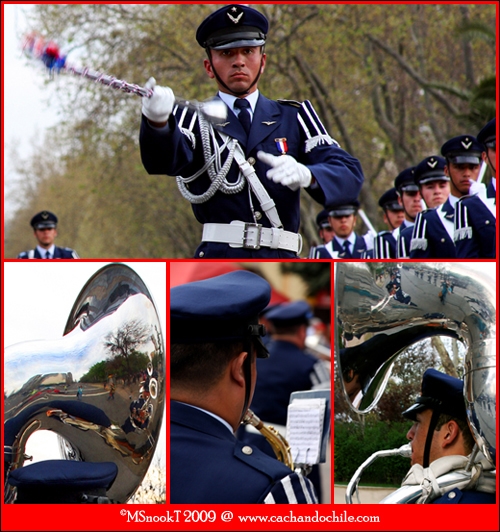 Parada Militar with tubas