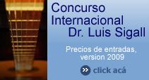 36th Concurso Dr. Luis Sigall-Guitarra