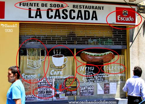 Valparaíso Fuente de Soda La Cascada (c) M Snook 2010