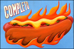 Hot Dog Completo Barraca