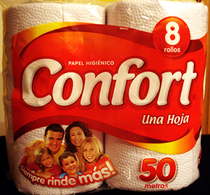 Confort toilet paper