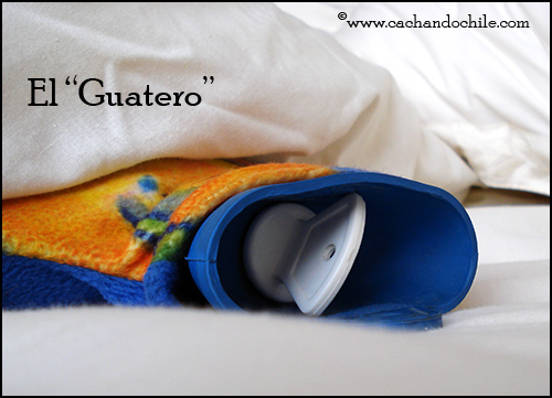 Guatero, hot water bottle
