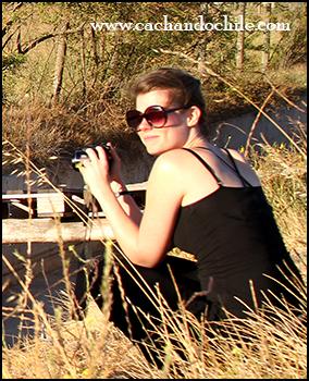 Laurie Hermans, anthropologist, fieldwork