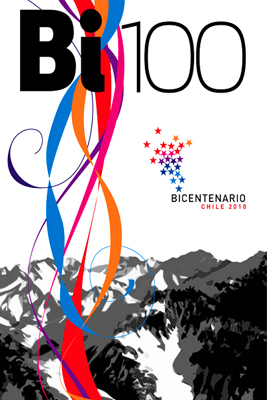 Chile's Bicentennial poster