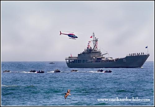 Chilean Bicentennial Naval Review