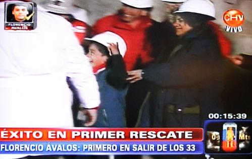 Rescate Minero- familia de minero Florencip Ávalos