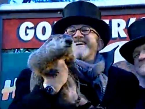 Punxsatawney Phil, Groundhog's Day, February 2, 2011