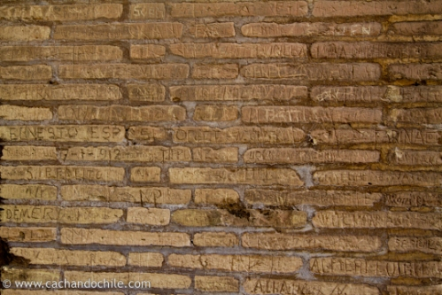 Old Grafiti, Colleseum, Rome, Italy, ©Margaret Snook 2011
