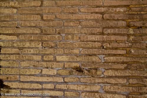 Old Grafiti, Colleseum, Rome, Italy, ©Margaret Snook 2011