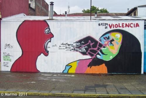 Graffiti in Temuco, Chile (photo by Marmo 2011)