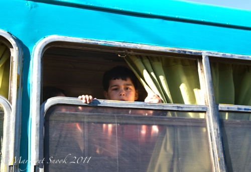 Boy on the train, Ramal, Maule, Chile