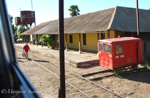 Leaving Estación González Bastías, Ramal, Chile