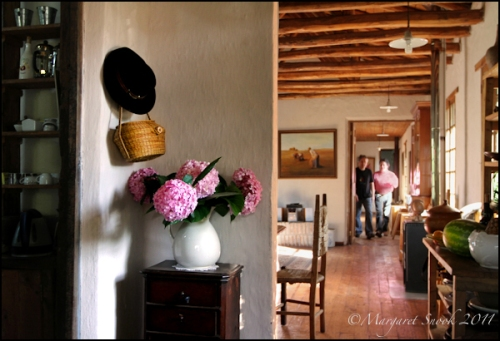 Chile, Cachapoal, country home